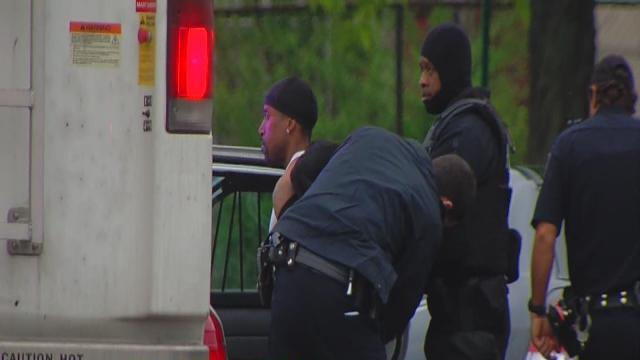 West side standoff ends peacefully