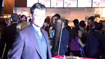Josh Duhamel Caresses 'Rocker Mommy' Fergie's Baby Bump at Scenic Route Premiere