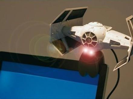 TIE Fighter webcam solidifies your obsession with Star Wars