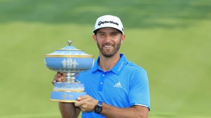 Dustin Johnson withdraws from Shell Houston Open after Match Play win