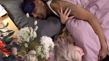 CBB's Ashley and Ginuwine kiss under the covers