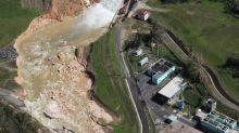 Hundreds leave homes near dangerously crumbling Puerto Rico dam