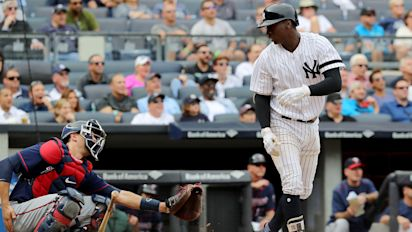 Didi Gregorius stops to apologize to catcher after hitting history-making homer