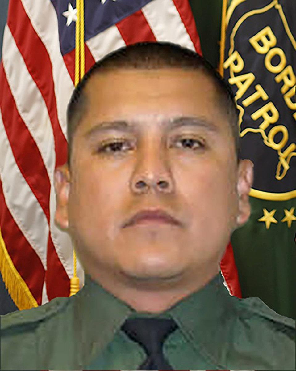 FILE PHOTO: U.S. Border Agent Martinez appears in this undated photo provided by the Federal Bureau of Investigation in El Paso