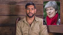 I'm A Celeb: Amir Khan sparks Twitter storm after asking if a woman can be prime minister