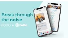 iFOLIO and Twilio Partner to Power Digital Storytelling by Text Message