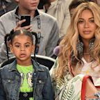 Blue Ivy Is Not Happy with Beyoncé's Attempt at a Corny Joke
