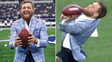 Conor McGregor hits back at fans over embarrassing NFL fail