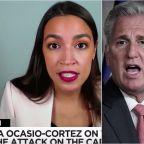 Alexandria Ocasio-Cortez Puts Kevin McCarthy On Notice: 'QAnon Members' Control House GOP