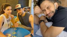 Kunal Kemmu Says 'It's Not Hurting At All' As He Gets His Lower Leg Inked; Wifey Soha Ali Khan Shoots The Video With Lots Of Excitement-WATCH