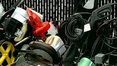 Police Seek Owners Of Recovered Equipment