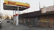 Man arrested for setting gas station fire