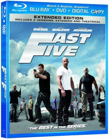 Fast 5 Blu-ray arrives October 4 with Second Screen feature in tow (video)