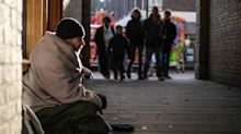 Police in one of England's smallest cities say beggars 'are NOT homeless' as they've been offered support