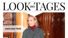 Look des Tages: Diane Kruger im weihnachtlichen Edel-Look