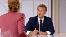 """Macron veut un """"grand programme de rénovation"""" des écoles et des Ehpad"""
