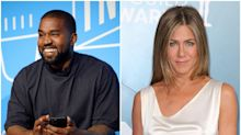 Kanye West claims that Jennifer Aniston is 'shook' by his presidential campaign after she urges fans not to vote for him