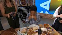 Kids compete in the ultimate PB&J challenge, learn how to make healthier options