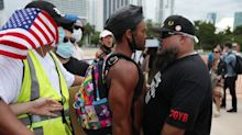 A Black Lives Matter organizer is facing felony charges for allegedly stealing flags during a pro-Trump caravan, reports say