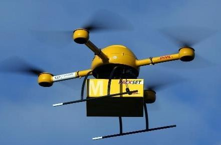 Deutsche Post shows off its Paketkopter drone delivery service in Germany