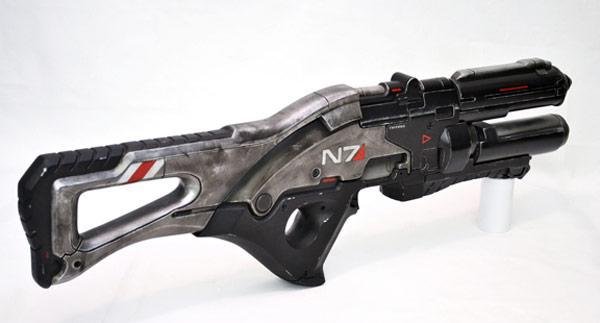 Mass Effect 3 N7 replica gets real world debut for your Spacer pleasure