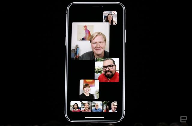 Apple's FaceTime offers group chats for up to 32 people
