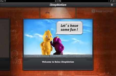 Daily iPad App: Boinx iStopMotion brings stop motion animation to iOS