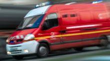 La Courneuve: un violent incendie d'entrepôt mobilise une centaine de pompiers