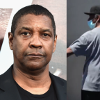 Denzel Washington branded a 'hero' as footage of actor intervening between police and homeless man goes viral amid George Floyd protests