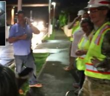 Puerto Rico Neighborhood Erupts in Cheers as Power Finally Comes On, Months After Hurricane Maria