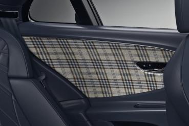 Bentley新增了粗花呢內飾選項