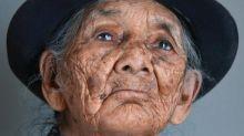 Fotógrafa faz serie de imagens que celebra as marcas da idade