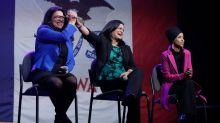 Rep. Rashida Tlaib Boos Hillary Clinton At Bernie Sanders Iowa Event