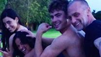 Zac Efron Dances to ?Wiggle? and Goes Shirtless on Vacation!