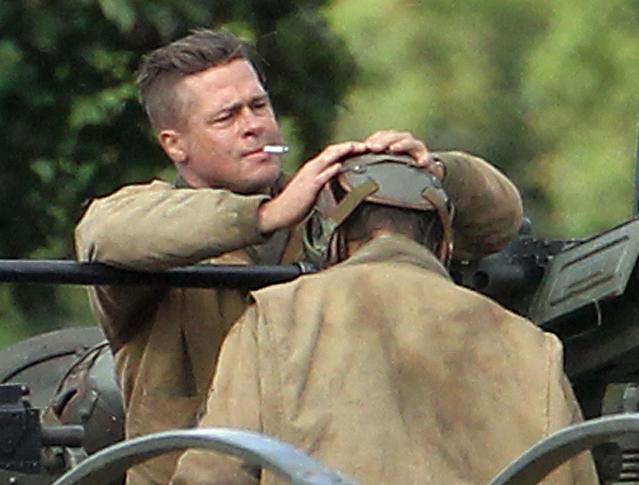 Sonys cinemacon panel offers first look at brad pitts wwii epic sonys cinemacon panel offers first look at brad pitts wwii epic fury urmus Images