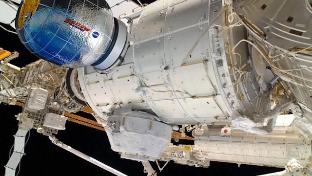 NASA to use the ISS as a testbed for inflatable living modules