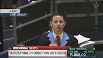 Negative October industrial production