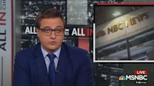 MSNBC's Chris Hayes praises Ronan Farrow while taking a shot at NBC