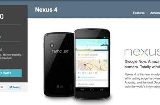 iPhone 5 in stock for the holidays, Nexus 4 is nowhere to be found