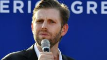 Eric Trump's Latest Whine Prompts People To Play The World's Smallest Violin