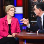 Stephen Colbert Desperately Tries to Get Elizabeth Warren to Bad-Mouth Joe Biden