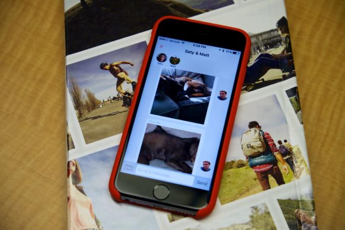 Mustbin for iPhone is a secure and private photo-sharing network