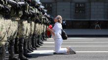 Huge protest on Belarus leader's birthday demands he resign