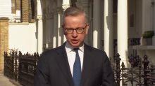 Michael Gove: 'There was confusion' over EU ventilator scheme