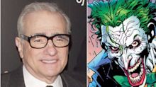 The Joker origin story in the pipeline from Martin Scorsese
