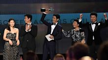 'Parasite' Makes History As First Foreign Film To Win SAG Award For Best Ensemble