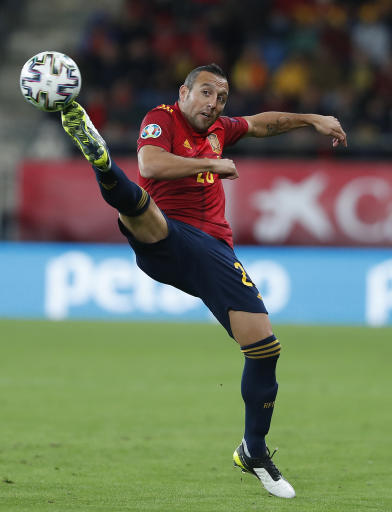 Cazorla nets first for Spain in 4 years in 7-0 rout of Malta