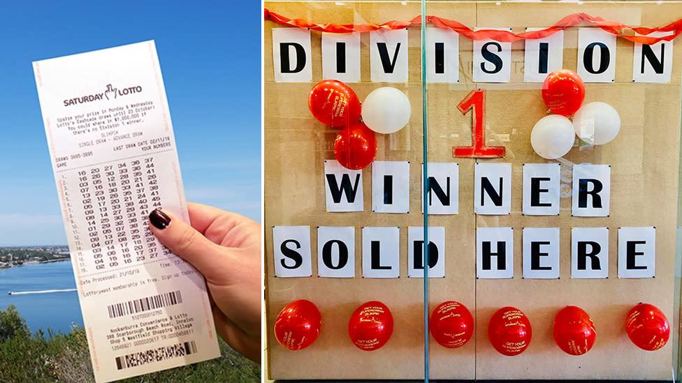 Man's split-second decision leads to couple winning $1.6 million