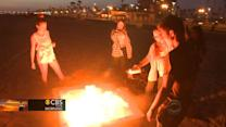 Beach bonfire ban? Calif. may rule against fire pits