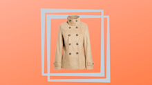 'This is a gem': Top-rated peacoat is on sale for just $38
